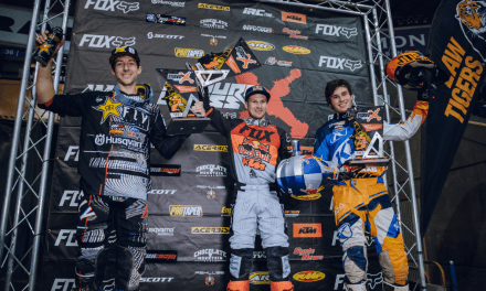 BLAZUSIAK TOPS AMA ENDUROCROSS ROUND 2 IN DENVER