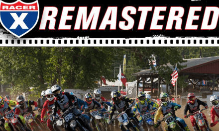 MX SPORTS ANNOUNCES 2019 RACER X REMASTERED SERIES FROM LORETTA LYNN'S