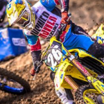 MARTIN & SUZUKI TOP-5 AT ANAHEIM SUPERCROSS