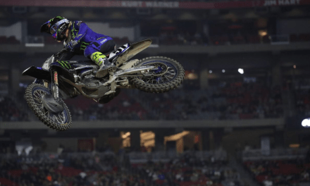 Solid Night for the Monster Energy Yamaha Factory Racing Team in Glendale