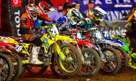 MARTIN KEEPS 5TH AFTER TOUGH GLENDALE SUPERCROSS