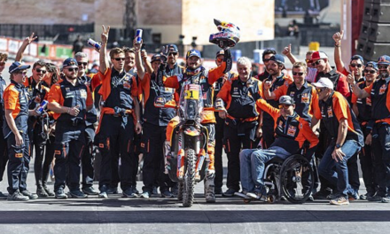 PODIUM RESULT FOR PRICE AT 2020 DAKAR RALLY