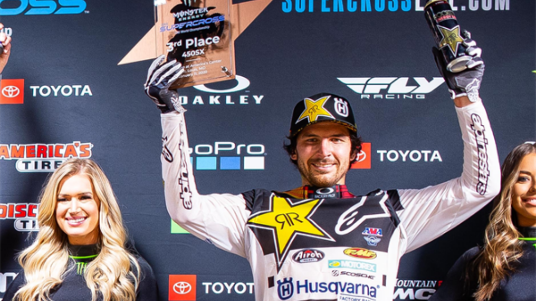 ANDERSON LANDS ON THE PODIUM AT ROUND 2 OF AMA SUPERCROSS CHAMPIONSHIP