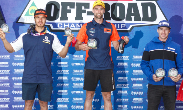 VICTORY HAUL IN TOOWOOMBA AORC OPENER FOR KTM ENDURO RACING TEAM