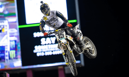DEAN WILSON RACES TO A SEASON-BEST SIXTH-PLACE FINISH AT TAMPA SX