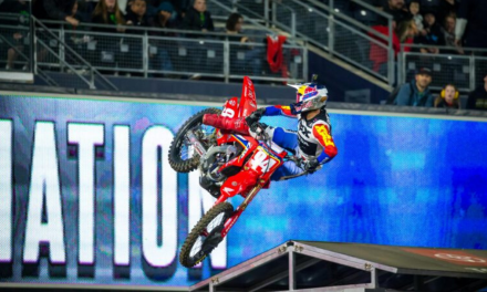Team Honda HRC Riders Finishes 6-7 at San Diego Supercross