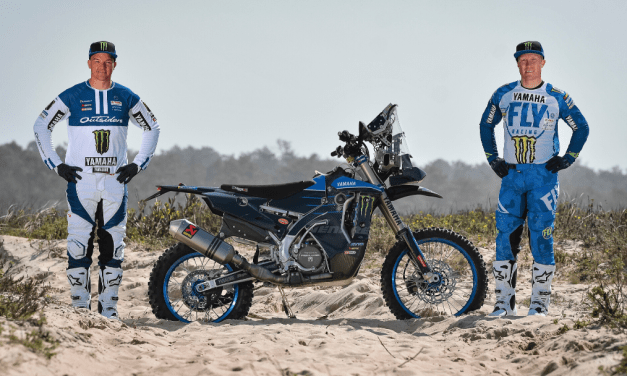 Monster Energy Yamaha Rally Official Team Welcome Andrew Short and Ross Branch