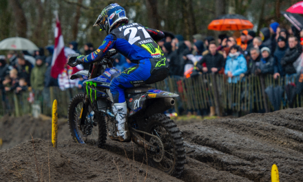 Monster Energy Yamaha Factory MXGP Trio Battle Brutal Conditions in The Netherlands