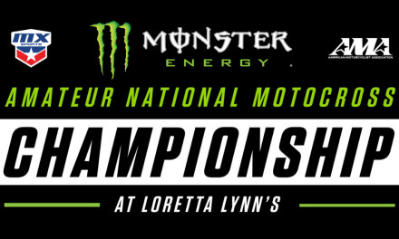 Monster Energy Named Title Sponsor of AMA Amateur National Motocross Championship at Loretta Lynn's