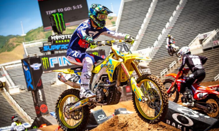 TICKLE EQUALS SEASON BEST AT UTAH SUPERCROSS