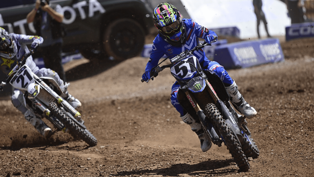 Monster Energy Yamaha Factory Racing's Barcia Climbs Into the Top-10 in Salt Lake City