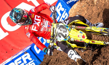 SUZUKI'S BROC TICKLE SCORES SX SEASON TOP RESULT