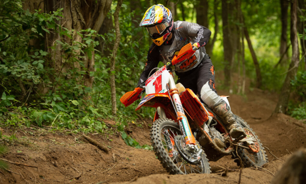 Dunlop High Point GNCC: Motorcycle Race Report – Kailub Russell Back On Top At Dunlop High Point GNCC
