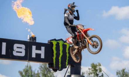 Gajser wins first moto back and closes to within four points of MXGP lead