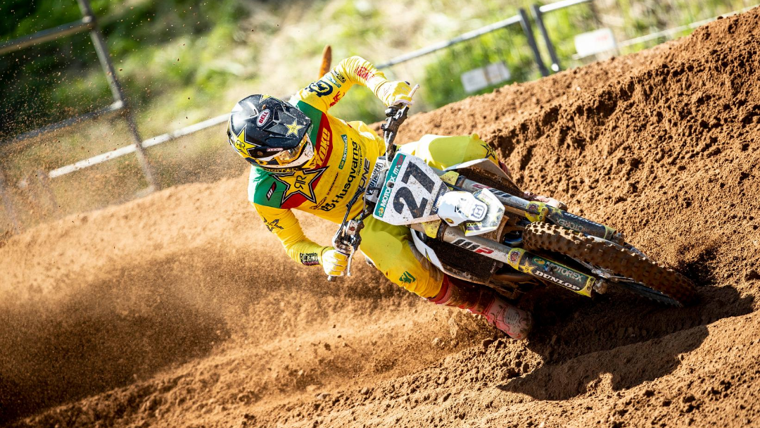 Solid second overall for Arminas Jasikonis at MXGP of Kegums