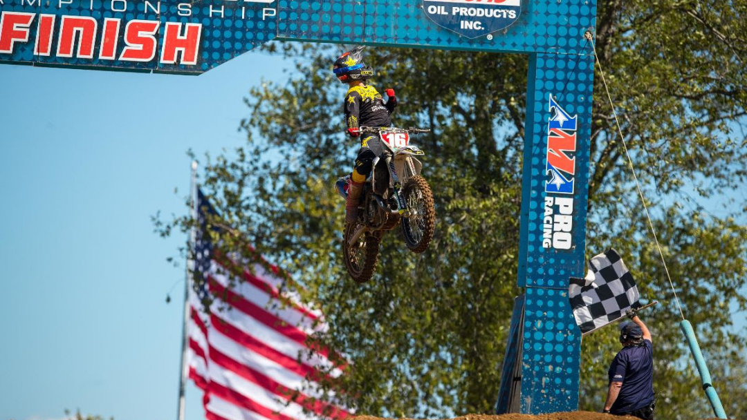 Osborne Sweeps RedBud to Capture Third Victory of 2020 Lucas Oil Pro Motocross Championship