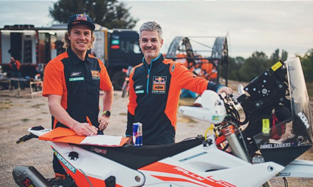 KTM FACTORY RACING SIGN DANIEL SANDERS TO RALLY TEAM