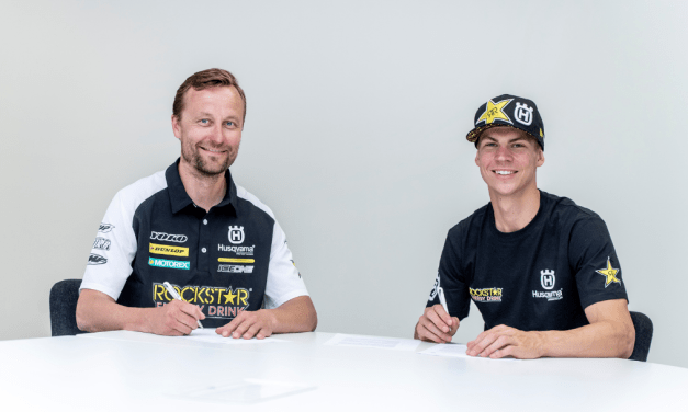 ROCKSTAR ENERGY HUSQVARNA FACTORY RACING AND THOMAS KJER OLSEN SIGN TWO-YEAR MXGP CONTRACT