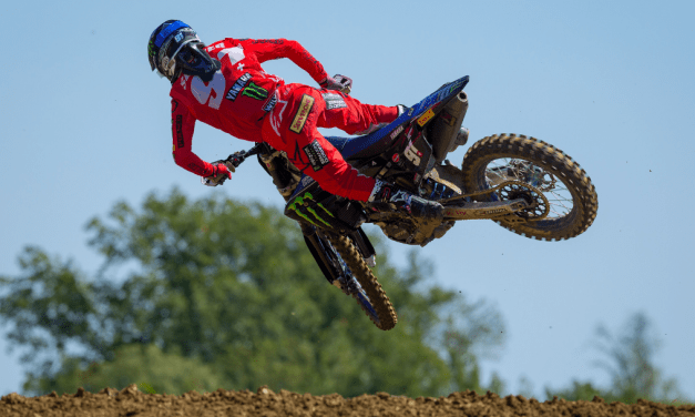 Seewer Celebrates Maiden MXGP Race Win & Second Consecutive Podium Finish