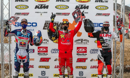 Colton Haaker Takes Round One EnduroCross Win