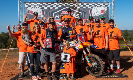 KAILUB RUSSELL BECOMES A THREE-TIME FULL GAS SPRINT ENDURO CHAMPION WITH OVERALL VICTORY AT SEASON FINALE
