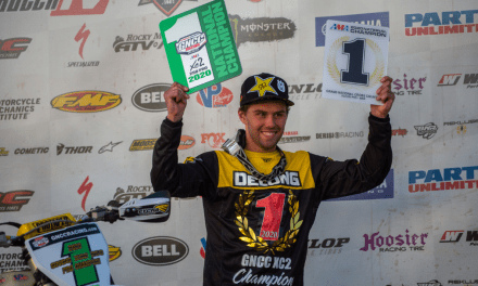 ROCKSTAR ENERGY HUSQVARNA FACTORY RACING'S CRAIG DELONG CLINCHES XC2 250 PRO CHAMPIONSHIP AT GNCC FINALE