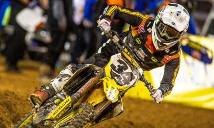 MAX ANSTIE MAKES SUPERCROSS DEBUT IN ORLANDO