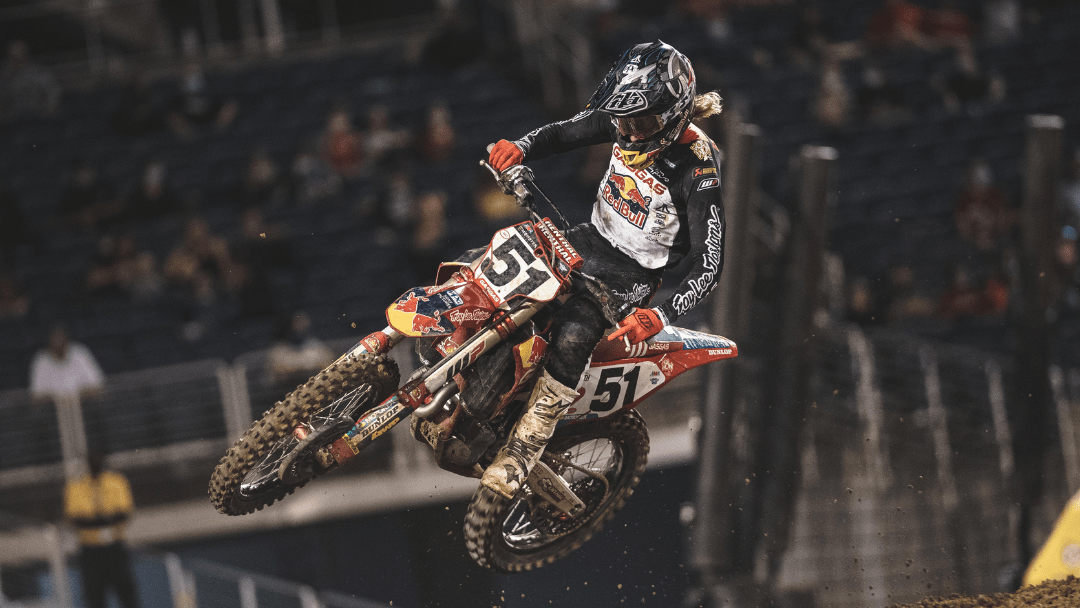 FOURTH-PLACE FINISH FOR JUSTIN BARCIA AT ORLANDO SX 1