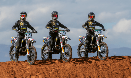 ROCKSTAR ENERGY HUSQVARNA FACTORY RACING'S MX2 CLASS COMPETITORS COMPLETE PRODUCTIVE PRE-SEASON TESTING