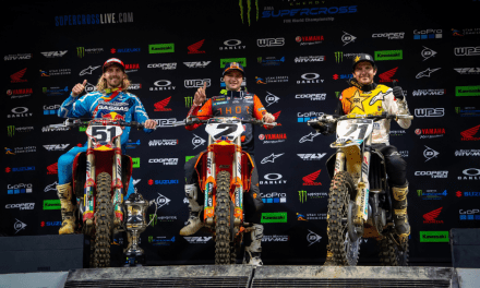 COOPER WEBB TAKES CONTROL OF THE 450SX CHAMPIONSHIP WITH FLAWLESS VICTORY AT ARLINGTON SX