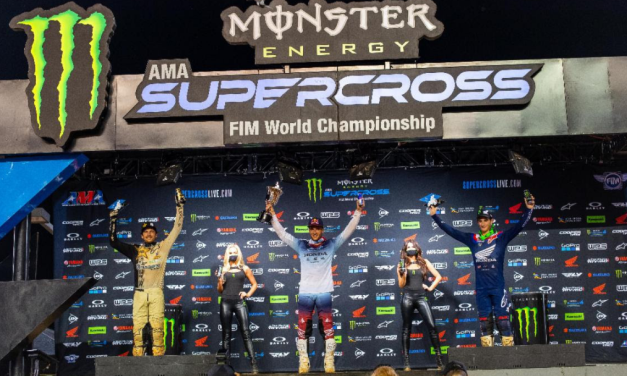 Ken Roczen Grabs 450SX Win and Takes Big Bite Out of Title Points Deficit – Justin Cooper Wins an Unforgettable 250SX Class Race