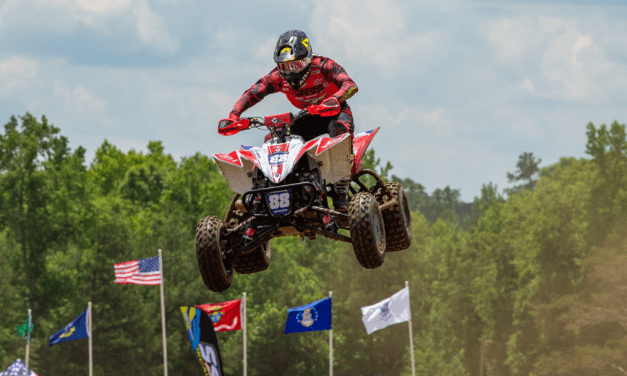 Hetrick Takes Over Points Leader After Third Overall Win