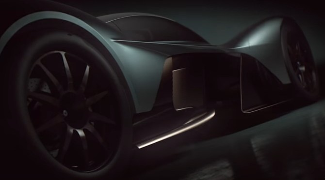 Aston Martin Valkyrie AM-RB 001 Officially Named