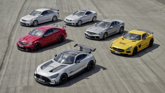 Mercedes-AMG Black Series history