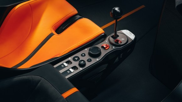 Gordon Murray Automotive T.50 gearshifter