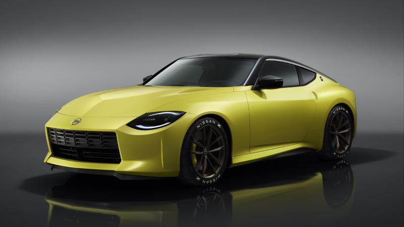 Nissan Z Proto front design