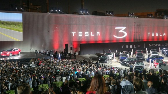 Tesla Model 3 presentation