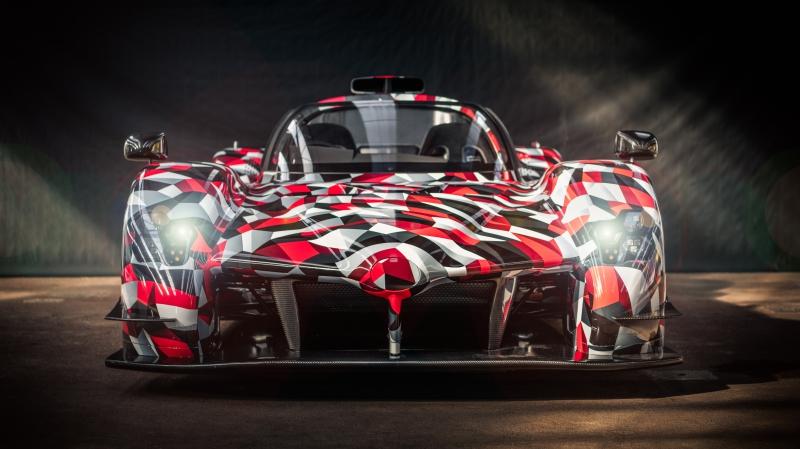 Toyota GR Super Sport prototype front