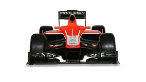 © Marussia F1 Team.