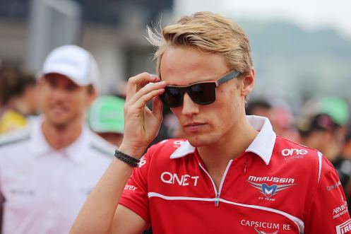 Chilton returns to F1 seat. © Marrusia F1 Team.