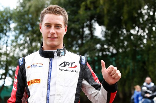 Vandoorne on pole in Spa. © Sam Bloxham/GP2 Series Media Service.