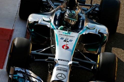 Rosberg was quickest in FP3... © Mercedes AMG Formula 1 Team.