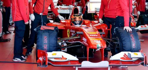 Ocon tested for Ferrari this week. © Scuderia Ferrari