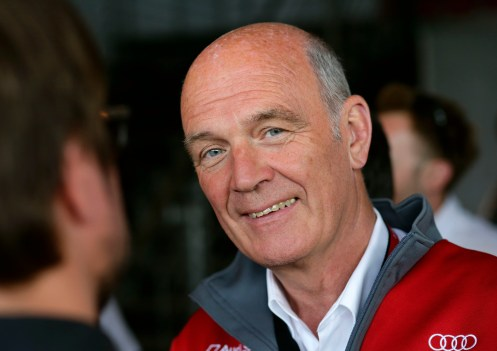 Dr Ullrich put his faith in Jarvis to succeed in the WEC. © Audi Motorsport