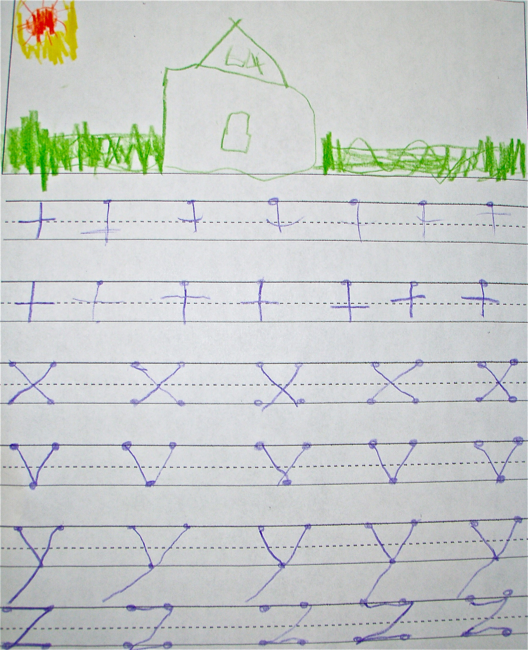 Handwriting For Kindergarten And First Grade The Motor Story