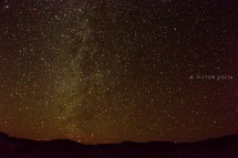 Night sky from Mesquite Campground