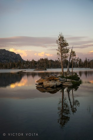 Middle Velma Lake - Sunset