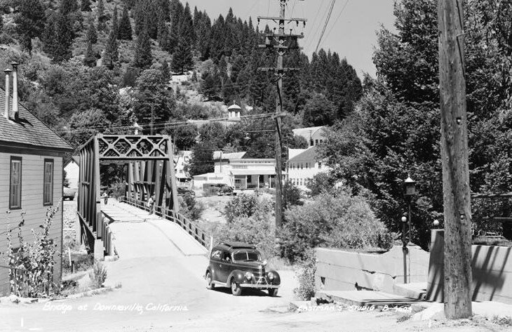 Downieville, CA in the 1920's