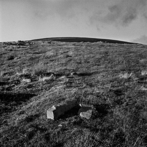 """The """"summit"""" of Table Mountain also called Crug Hywel, is an iron age fort."""