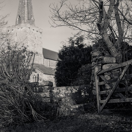 The Kirk in Trelleck. Monmouthshire.